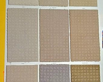 "Dollhouse miniature carpet rug 6""x10"""
