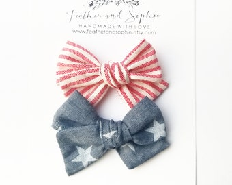 RTS • stars and stripes • pigtail set