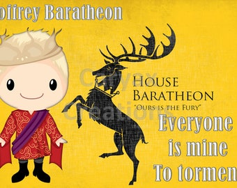 House Joffrey GOT  digital image