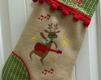 Personalized Christmas Stockings, Embroidered Stockings, Family Stockings, Pet Stockings, Handmade, Many Fabrics, Trims & Designs