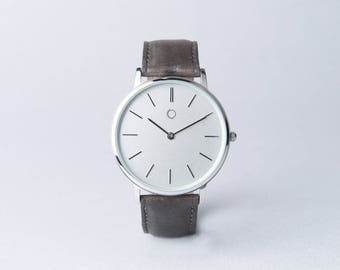 Vitello - Man watch - real leather - made in Italy