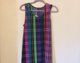 Retro 80s/90s shift dress