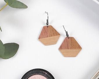 Jewelry - Earrings - wood-