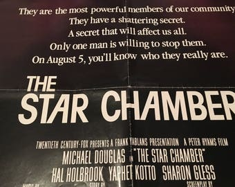 the star chamber movie poster 27 by 40 hal holbrook