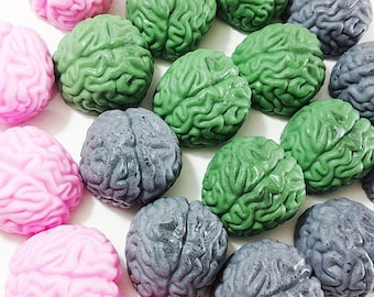 Halloween decorations. Scary Halloween decorations. Soap gift set. BAG of Brain Soaps. TWD. Walking dead inspired Zombie Soaps. Fall decor