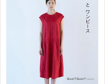 Quoi Quoi Dresses BOOK Japanese Craft Book Sewing patterns one piece Size S M L 2 L 3 L Mami Kikumi Asami Sansei