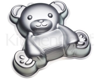 Teddy Bear aluminium cake tin