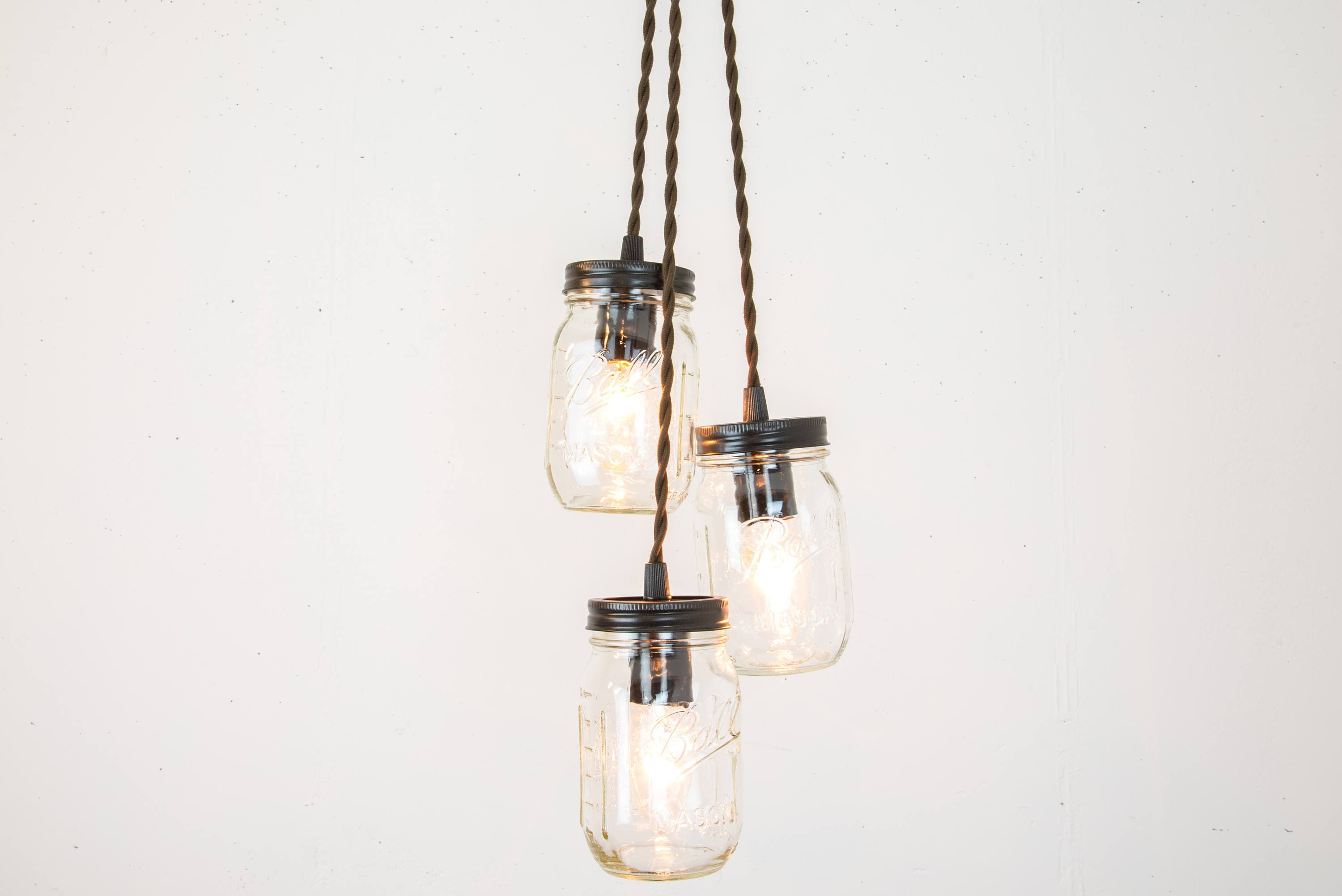 oil rubbed bronze pendant lights. Mason Jar Chandelier - Pendant Light Oil Rubbed Bronze Rustic Lamp Industrial Unique Lights R
