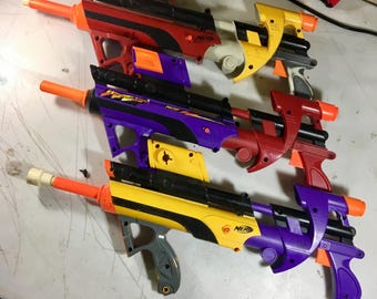 Nerf Tri-Color Modded Big Bad Bows