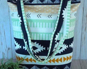 Aztec Tote Bag (No Zipper)