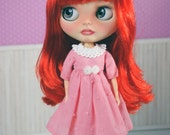 Blythe dress, blythe plum...
