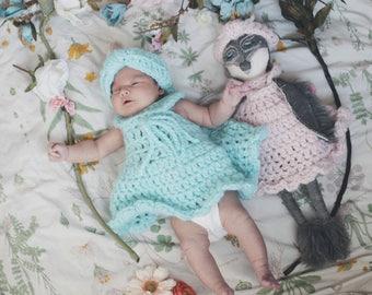 Custom Cloth Doll. Baby Shower Gift. Baby girl Gift. Baby Girl Clothes. Girl Soft Rag Doll. Unique Gifts. Baby Gift. Nursery Decor. Plushie