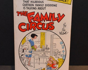 Family Circus Book by Bil Keane - The Family Circus 1966