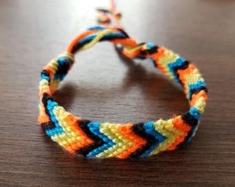 Child's size friendship bracelet - Multi