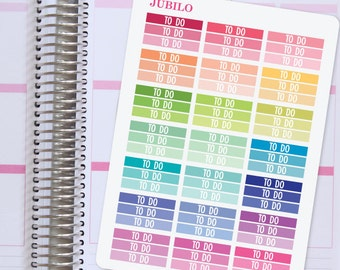 Planner Stickers To Do Headers