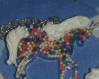 sprinkle unicorn necklace