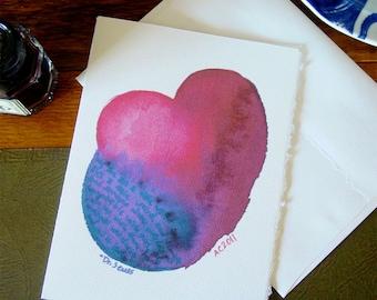 Dr Seuss on Love - Handmade Card - Geek Love