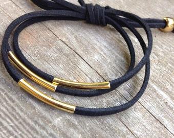 Tube Bracelet- Black