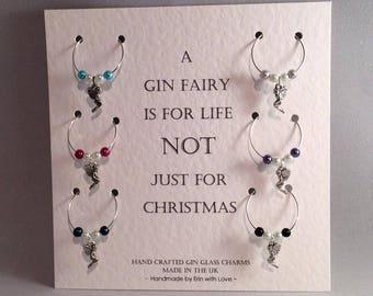 Gin Fairy - Gin glass charms