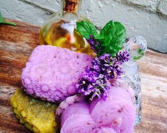 Natural glycerin soaps