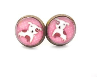 Earrings Dog