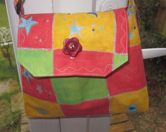 Stars and crowns bag