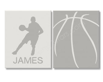 Basketball Art Prints, Basketball Art, Basketball Player Gift, Basketball Team Gift, Basketball Coach Gift, Personalized Basketball Name Art