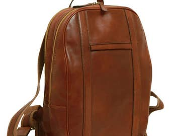 Leather Backpack/Laptop Backpack/13 Inch Laptop Bag/Handmade Bag/Italian Leather/Made In Italy - SKU: 314M
