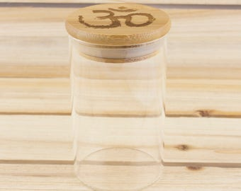 1/2 Oz. Om Bamboo Stash Jar