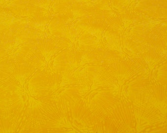 "Leah Duncan ""Maya"" 100% Cotton Fabric Yellow/ Mustard"