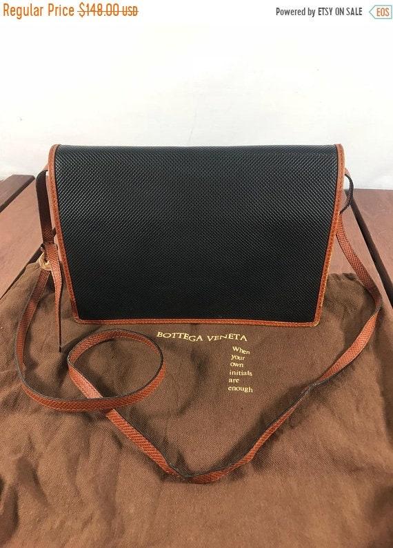 42cccb9bc1d 10% OFF SUMMER SALE Bottega Veneta Vintage Authentic Black