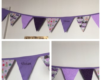 bunting for childrens bedroom
