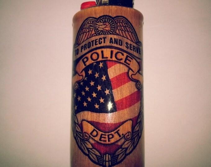 Police Department Lighter Case Lighter Holder, Lighter Sleeve