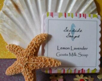 Lemon Lavender Goats Milk Soap