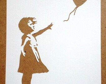 Banksy Stencils Set Of 5 Choose Your Own