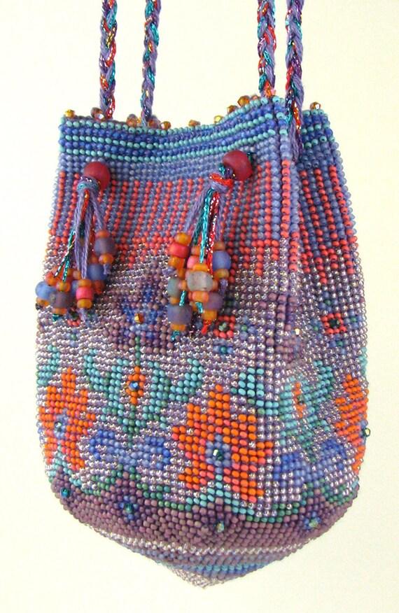 Caprice Bead Crochet Purse Instant Download Pdf Pattern