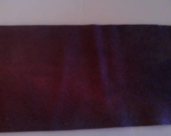 Plant Dyed Felted Wool  Plum
