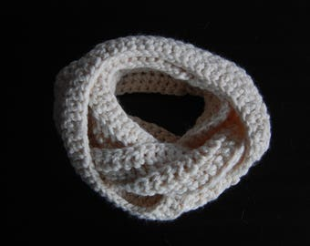Creations Tan Infinity Scarf