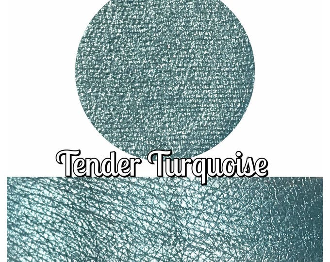 TENDER TURQUOISE- Pressed Eyeshadow Pigment - Foiled Turquoise
