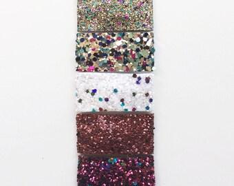 FROZEN glitter snap clip or alligator clip / fall / Thanksgiving/ Elsa / cranberry / plum / purple / DISNEY