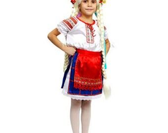 Traditional Ukrainian dress,  Ukrainian dress for girl,  Ukrainian dress for woman, Cossack costume,  Ukrainian traditional costume