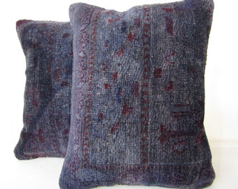 A pair of rug pillow covers,14''x18''-35x45cm,homedecor rug pillow case,sofadecor pillow cover,cushion cover H 11