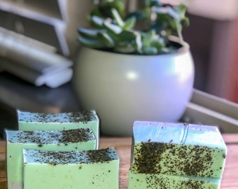 Lavender Green Tea Bars