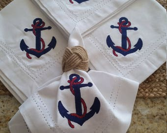 Napkins with Anchor