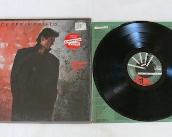 "Rick Springfield ""Tao"" Vintage 1985 Vinyl LP"