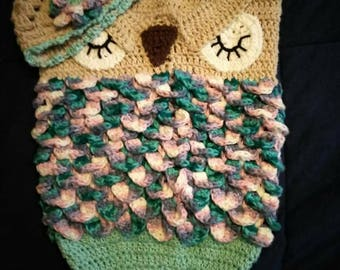 Owl Cocoon infant
