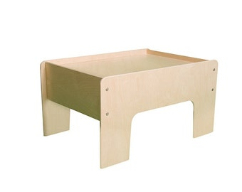 Play Table / Train Table Unfinished Wood Furniture