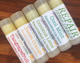 BUY MORE & SAVE - Yamali Lip Balms - Jojoba, Almond, Macadamia Blend