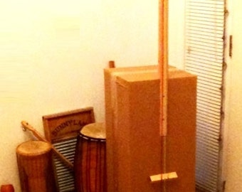Bogdon BLANK Box Bass Kit 3 String Electric tuned to E-A-D (2-string available by request) assembly required