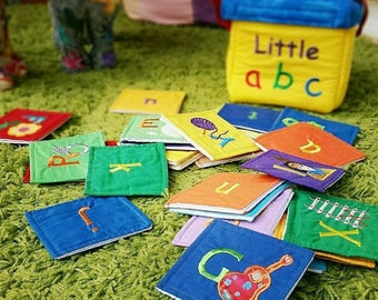 Alphabet fabric color book box of kidsndaddy